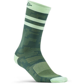 Craft Pattern Sokker Grønn